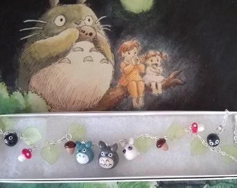 Anime Totoro Necklace