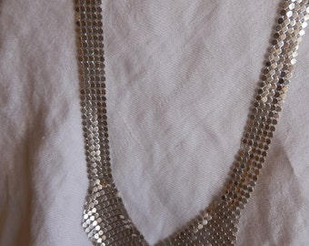 Silver Mesh nacklace