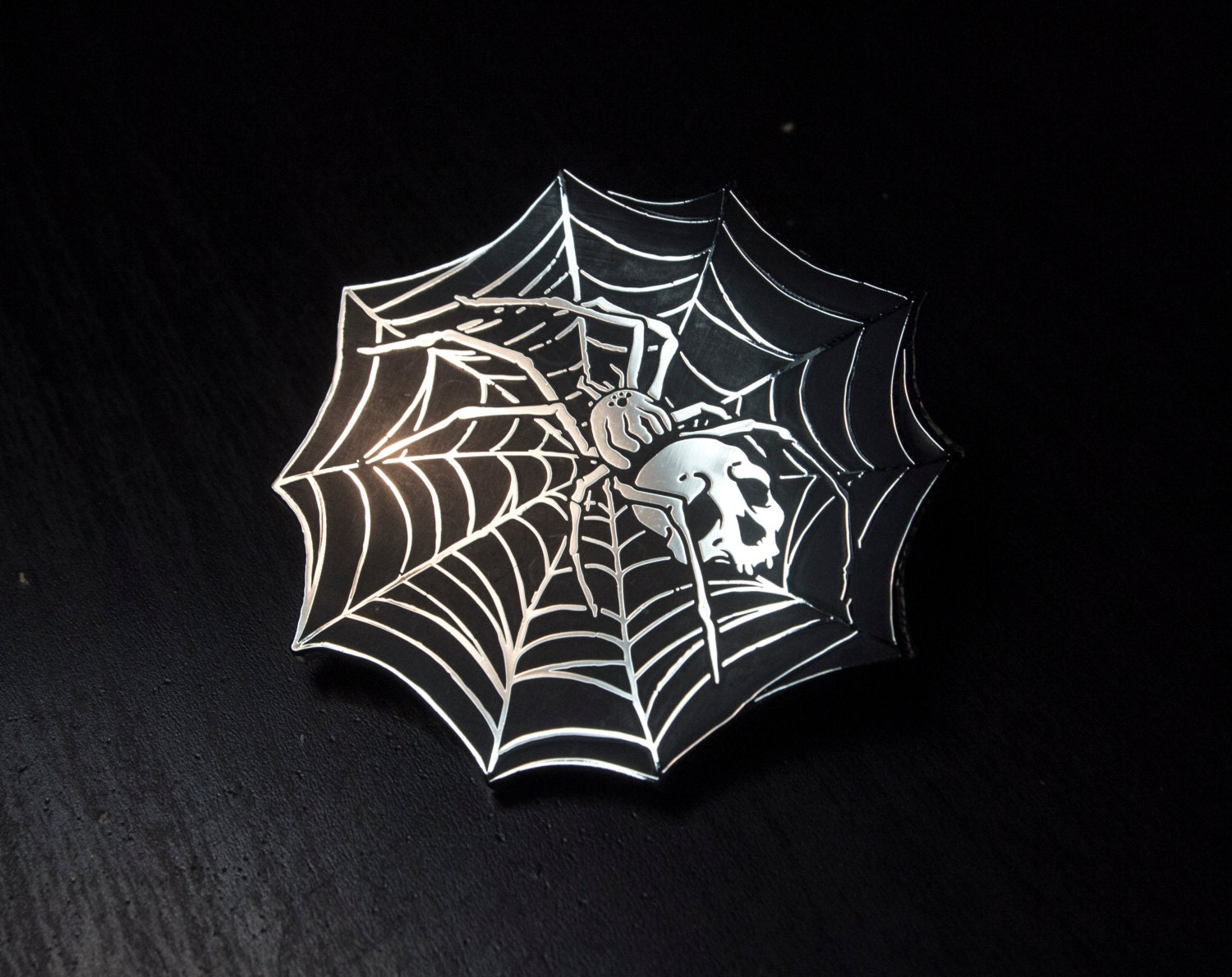 Webspinner - Open Edition Enamel Pin