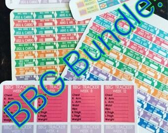 DIGITAL DOWNLOAD-BBG Planner Sticker bundle-Round 1 and Round 2 plus add-ons