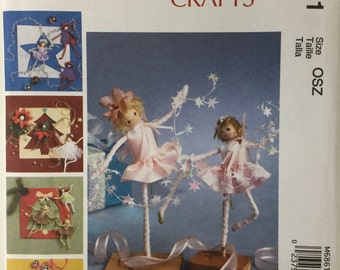 McCall's Crafts Pattern - Pixie Decorations