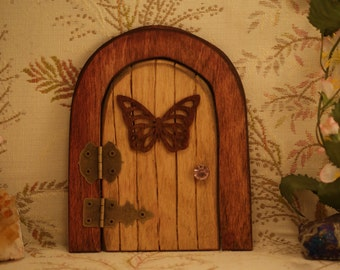 Fairy Door,Butterfly and 2 hinges