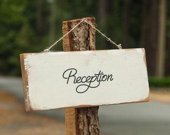 Wedding Sign - Wedding Reception - Reception Sign - Wood Sign
