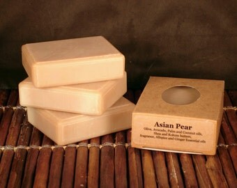 Asian Pear Handcrafted Soap