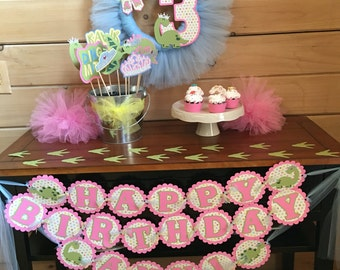 T-Rex's & Tiaras Party - When your little princess wants to be a dinosaur!