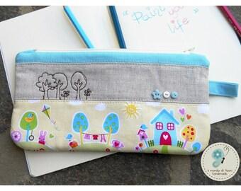 Box with fabric kawaii