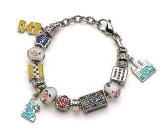New York City Charm Bracelet - Bracelet and All Charms Included!