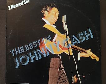 Very Rare, The Best of Johnny Cash, 2 Record Set, Trip Records Vintage Vinyl LP, 1974