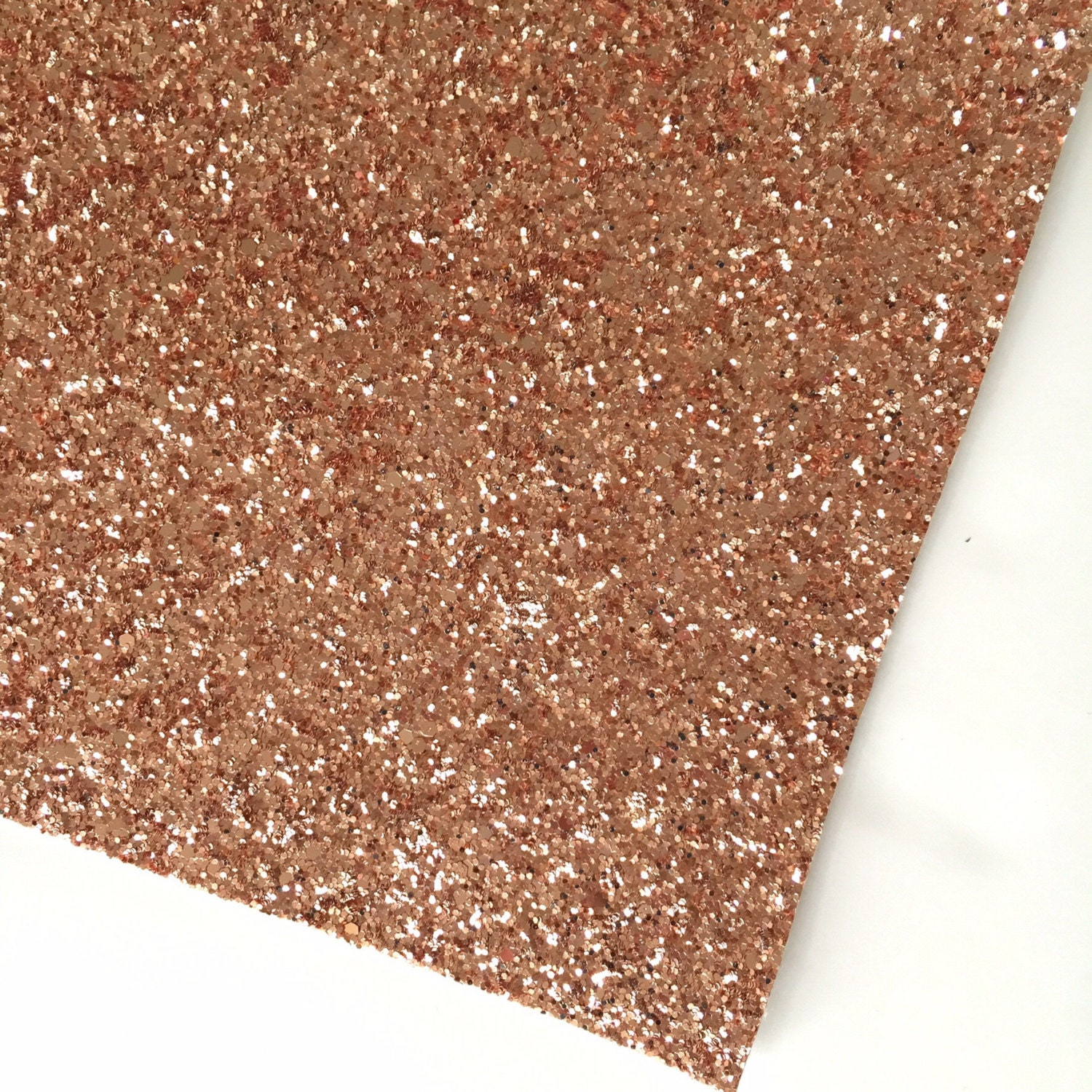 textured glitter fabric material rose gold by fabridasher