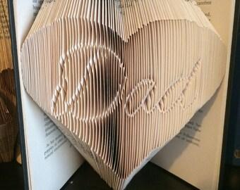 Dad in Heart Bookfold