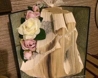 Bride and groom bookfold