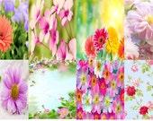 Floral Erin Condren & Happy Planner Stickers