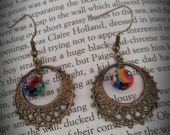 Fun Dangle Hoop Earrings
