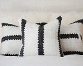 Zig Zag Mudcloth Pillow Cover