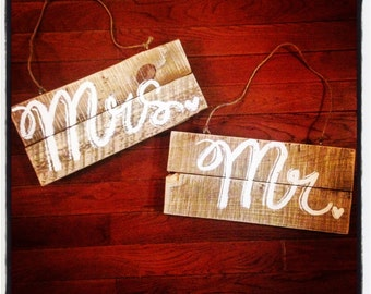 Mr. and Mrs. Chair Hangers