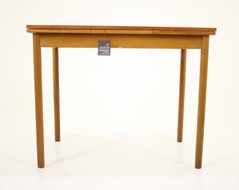 304-052 Danish Mid Century Modern Teak Dining Table