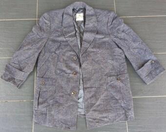 Vtg 100% Wool HICKEY-FREEMAN Customized Clothes Sport Coat