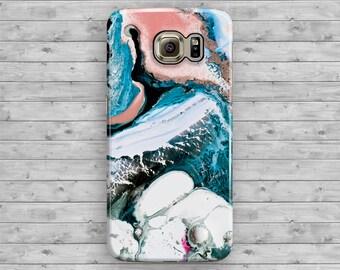 Marble Multi Color Samsung Galaxy Case, Granite Galaxy S6 Case, Marble Galaxy S7 Edge, Galaxy S6 Edge Plus, S3 S4 S5 Note 7 3 4 5 Cool Cover