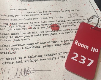 The Overlook Hotel collectable Room 237