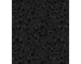 Bumbleberries -Lecien Fabric BTY - Black