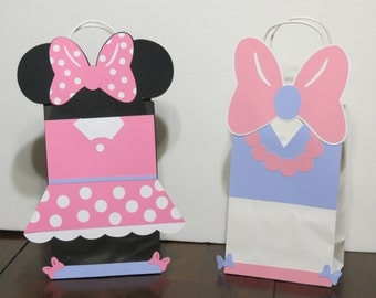 Minnie's Bow-tique Inspired Goody Bags ( 6 Bags )