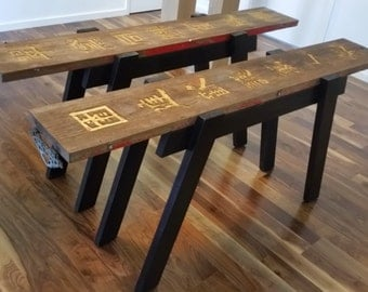 Asian Inspired Hall Table