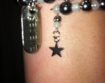 Believe bracelt
