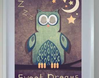Sleeping owl 'sweet dreams'