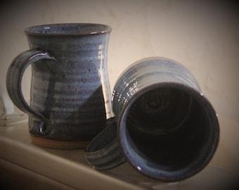 12oz blue mug
