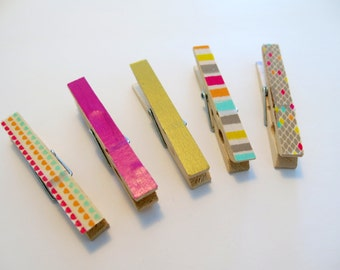 Magnet decorative cloth or bug clips / various colors