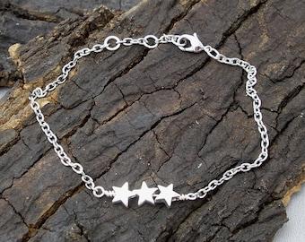 Bracelet star Star Silver