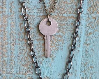 Layering Key Necklaces