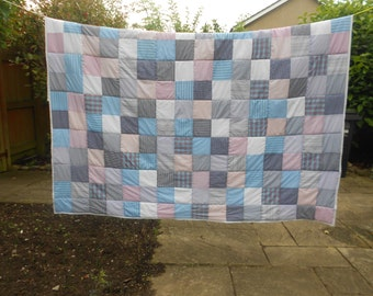 Patchwork Quilt Making Service. Bespoke Quilts. Own Fabric Quilts. Custom Order Quilts. Design Your Own Quilt.