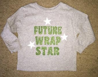 Toddler Longsleeve Future Wrap Star Shirt