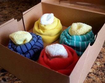 Baby Boy Cupcake Onesies