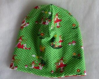Wendebeanie, reversible hat, Cap 48 KU