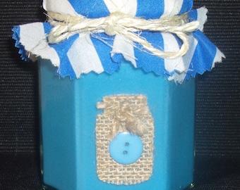 Hexagonal Jam Jar Soy Candle