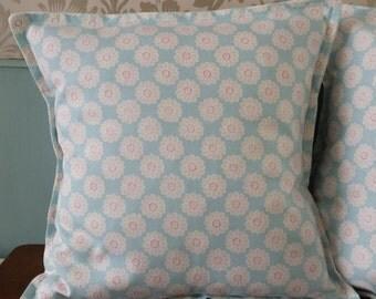 Blue Daisy cushion