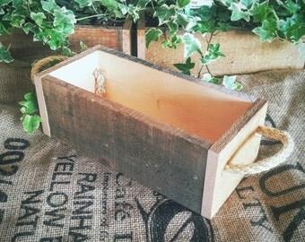 Rope Handle Planter Box