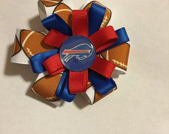 Buffalo Bills Hair Bows