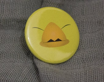 Final Fantasy Fat Chocobo Badge