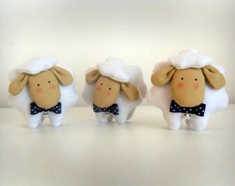 Set of three Sheep-Set of three Sheep Doll