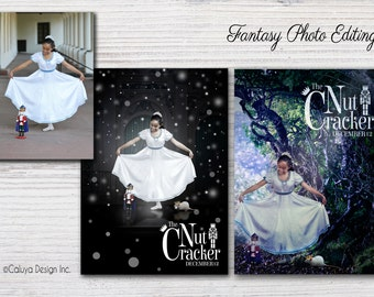 Fantasy Photo Edit / Customize fantasy photo to special occasion, gift and more