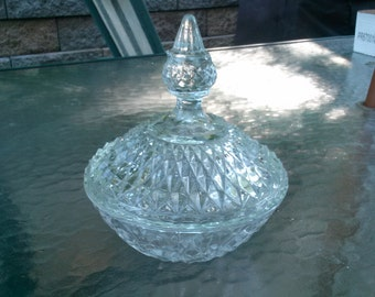 Crystal Glass Candy Dish
