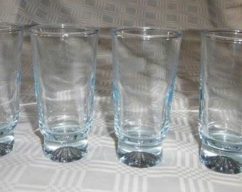 Light Blue Shooter Liquor Glasses