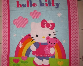 Hello Kitty Baby Quilt