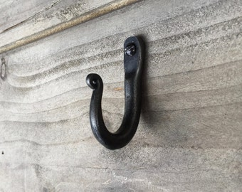 Pair Shepherds Crook Hooks - Small - Hand Forged