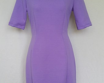 Purple Merino Princess line Hexy dress