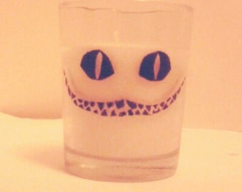 Cheshire Cat Votive Candle