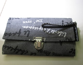 catchall,wallet women grey.accessoiry,card holder